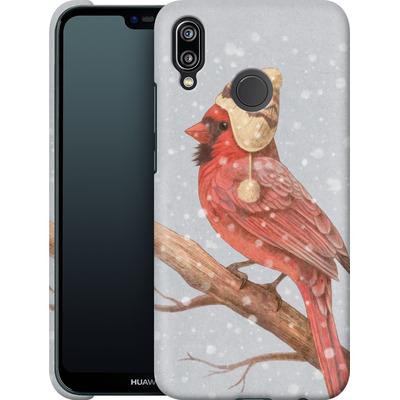 Huawei P20 Lite Smartphone Huelle - First Snow von Terry Fan