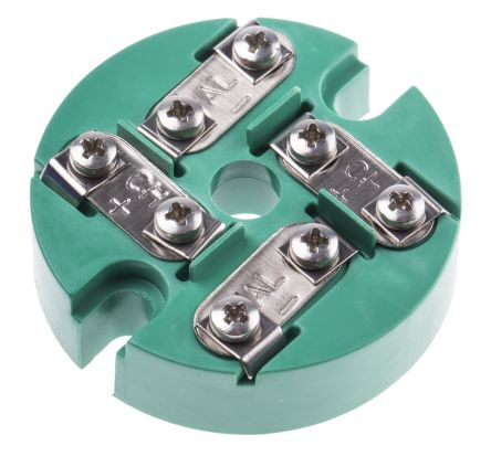 RS PRO Thermocouple Terminal Block for use with Type K Thermocouple Type K