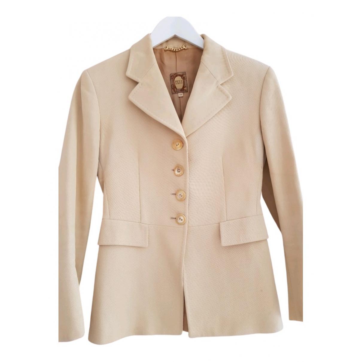 Ritz Saddler - Veste   pour femme en coton - beige