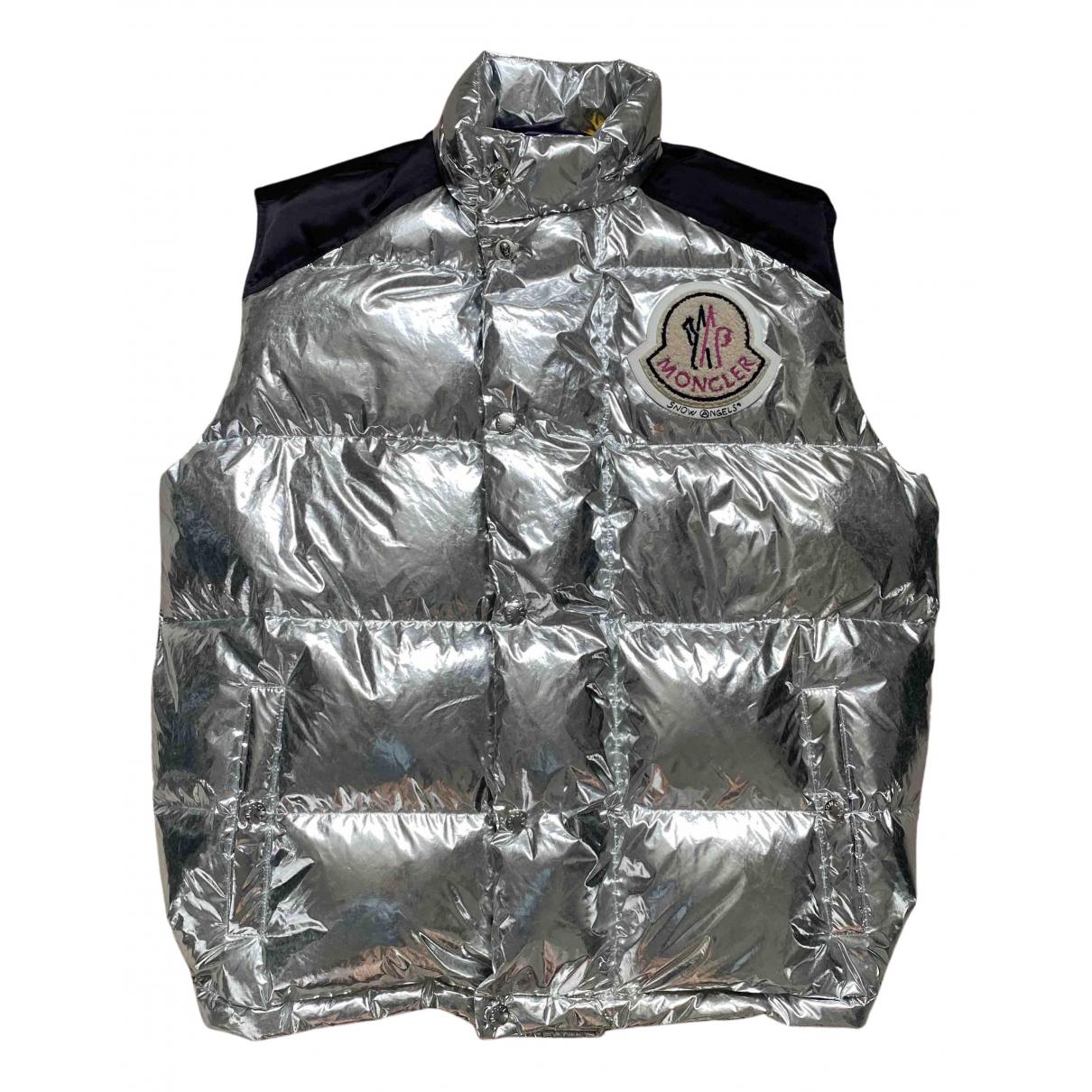 Moncler Genius Moncler n°8 Palm Angels Silver jacket  for Men M International
