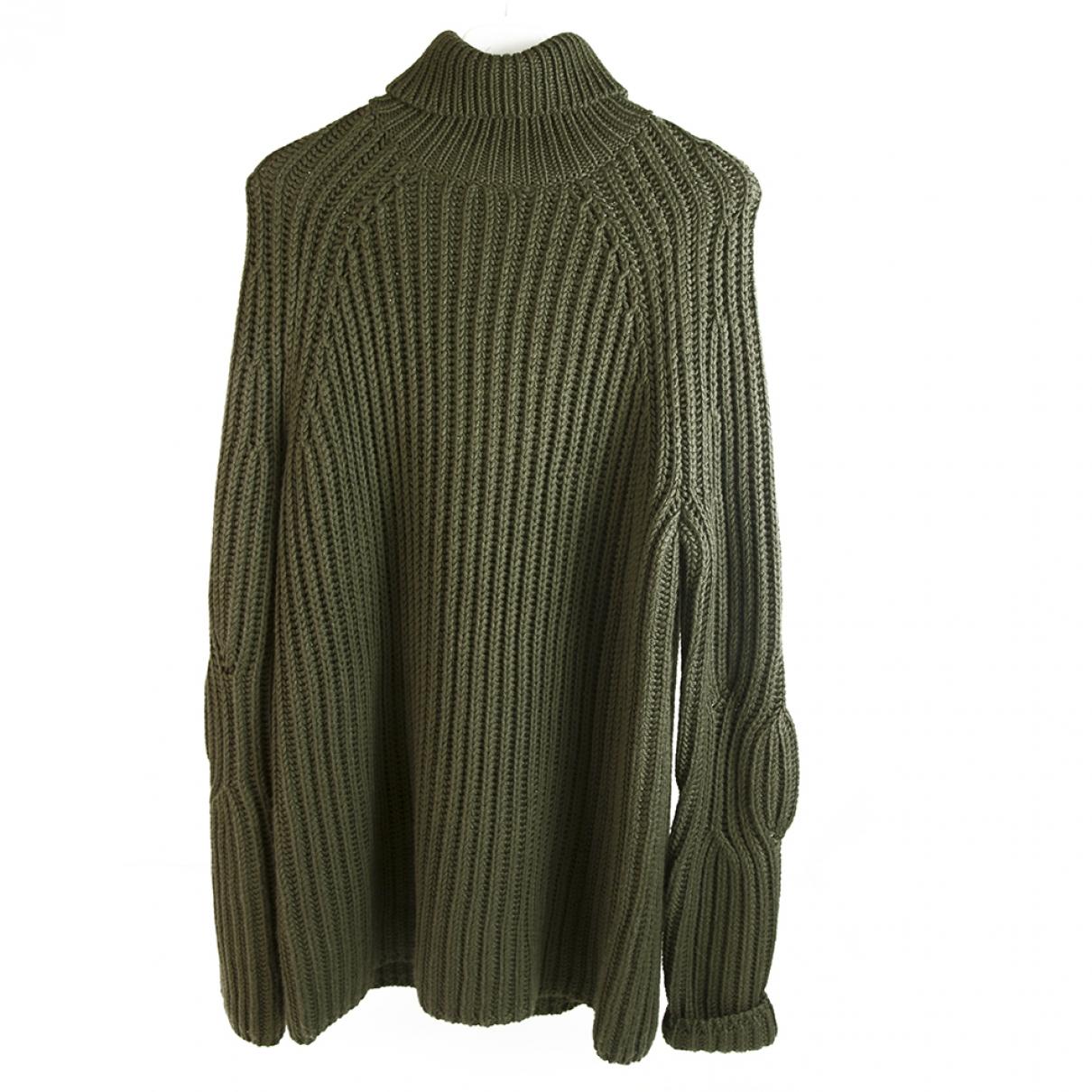 Neil Barrett \N Pullover.Westen.Sweatshirts  in  Khaki Wolle