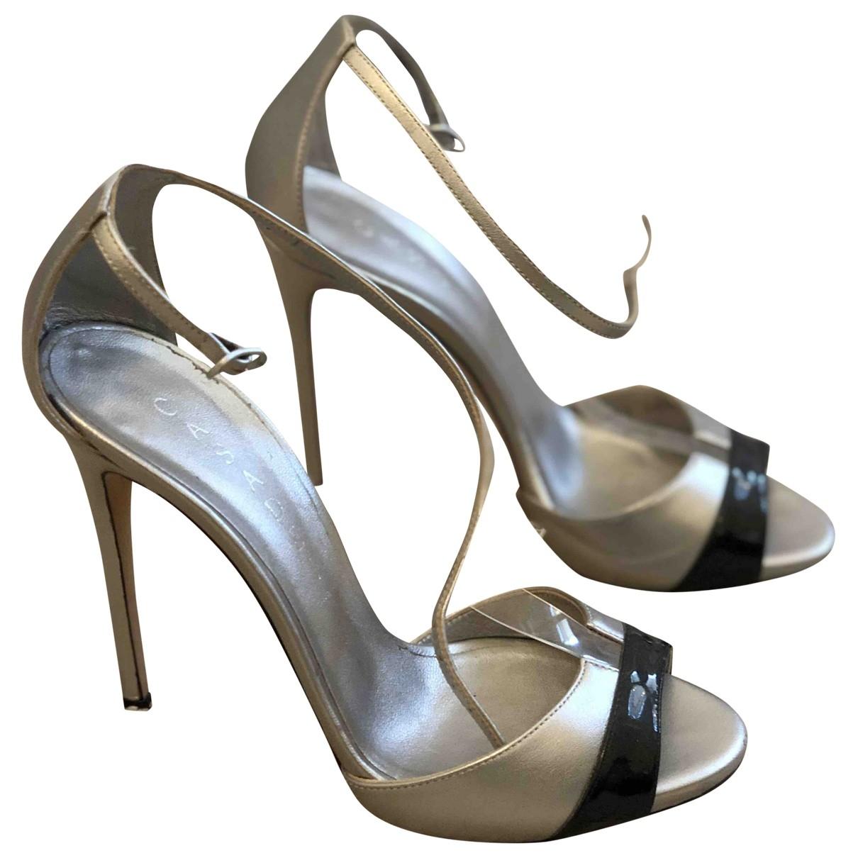 Sandalias romanas de Cuero Casadei