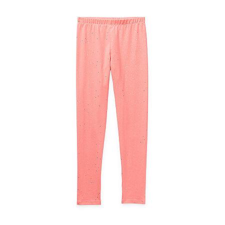 Arizona Little & Big Girls Legging, 3x-large (22.5) Plus , Pink