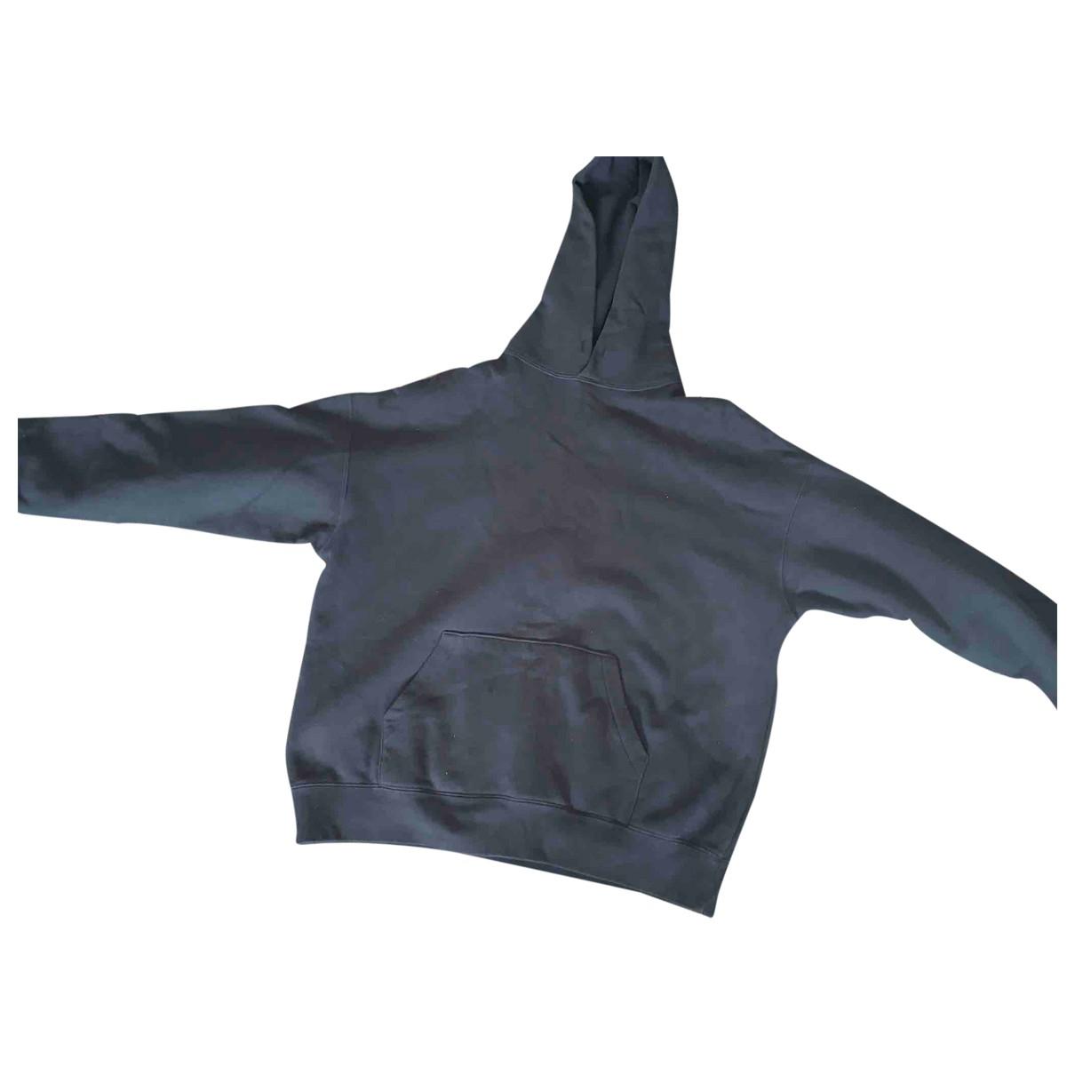 Fear Of God \N Pullover.Westen.Sweatshirts  in  Schwarz Baumwolle
