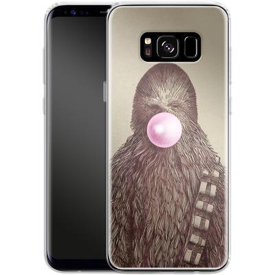 Samsung Galaxy S8 Silikon Handyhuelle - Big Chew von Eric Fan