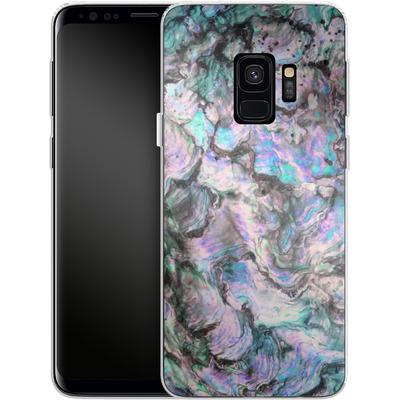 Samsung Galaxy S9 Silikon Handyhuelle - Mother of Pearl von Emanuela Carratoni