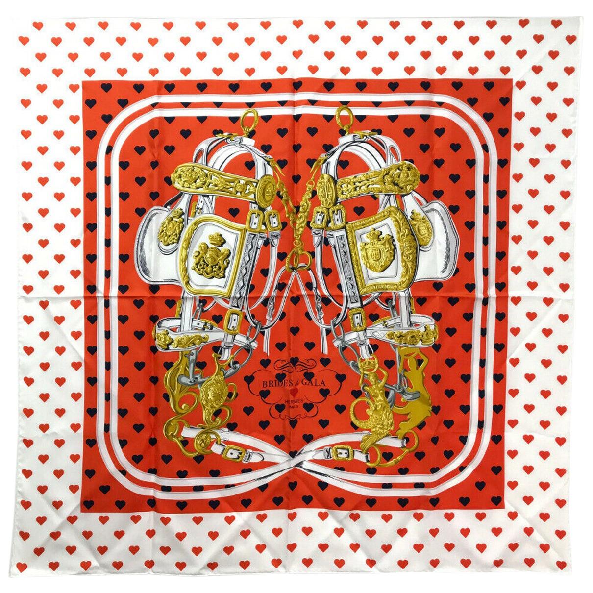 Hermès Carré 90 Multicolour Silk Silk handkerchief for Women N