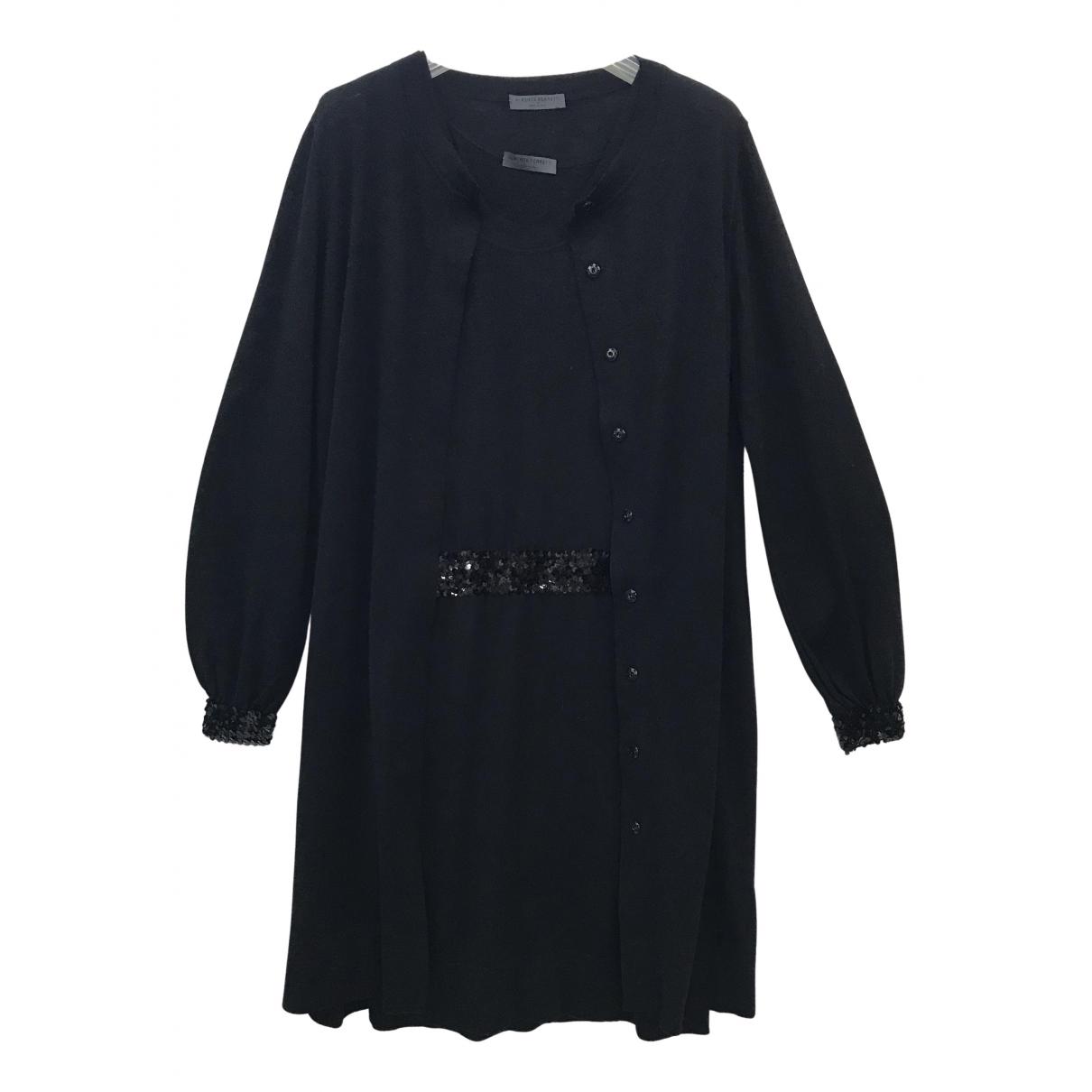 Alberta Ferretti \N Kleid in  Schwarz Wolle