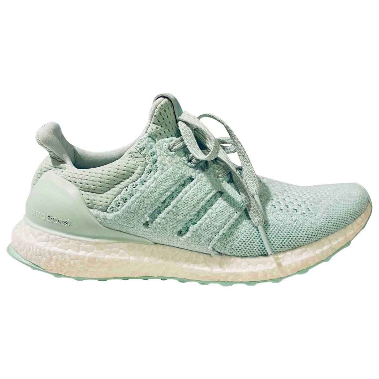 Adidas - Baskets Ultraboost pour femme en toile - vert