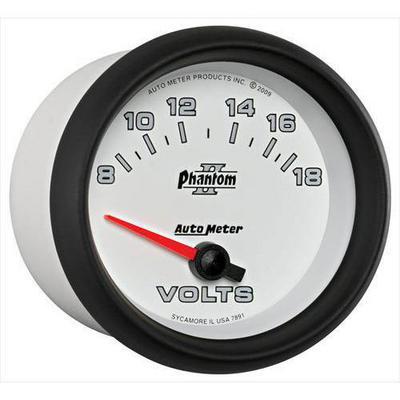 Auto Meter Phantom II Electric Voltmeter Gauge - 7891