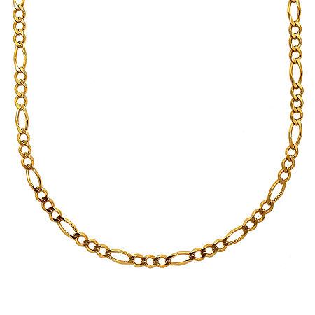 Mens 18K Yellow Gold Over Silver 30