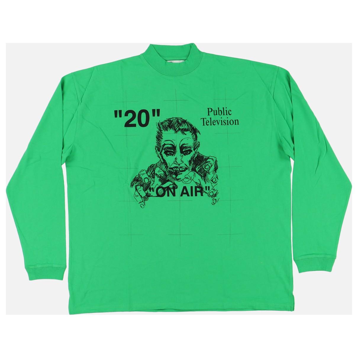 Off-white \N T-Shirts in  Gruen Baumwolle