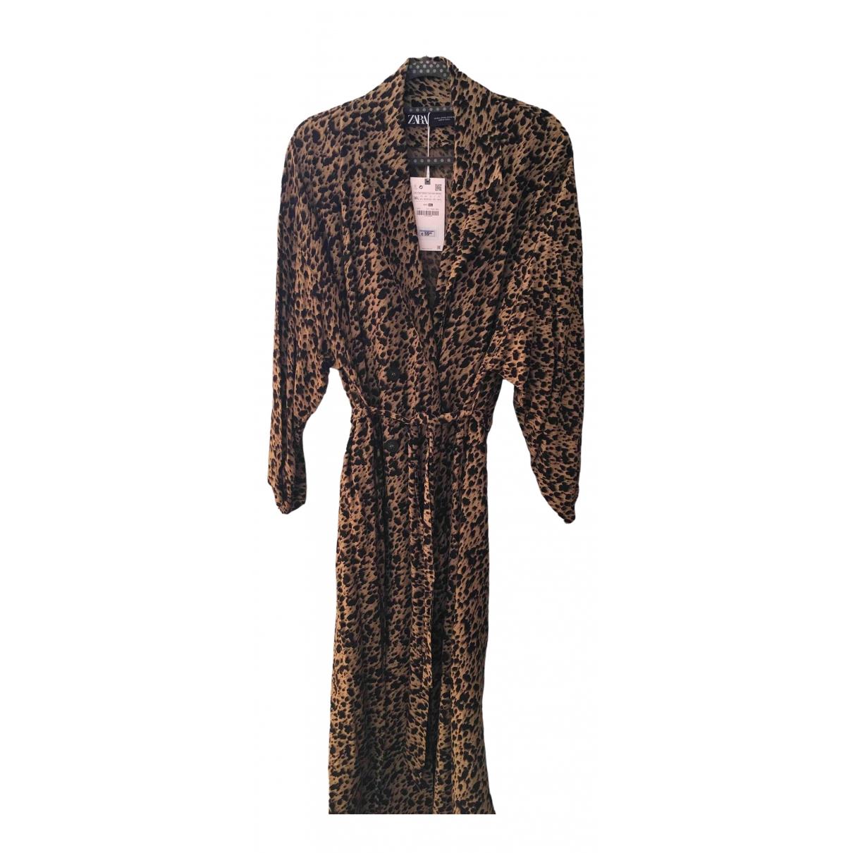 Zara \N Black Trench coat for Women M International