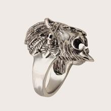 1pc Maenner Lion Design Ring