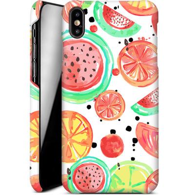 Apple iPhone XS Max Smartphone Huelle - Fruit Crush von Mukta Lata Barua