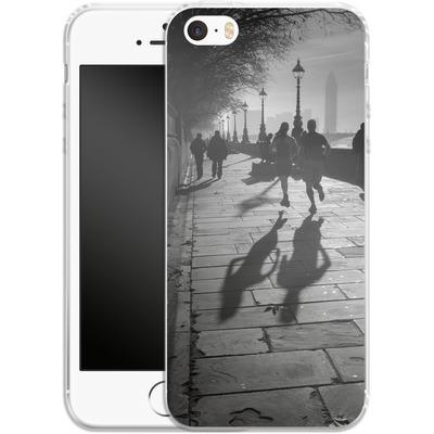 Apple iPhone SE Silikon Handyhuelle - Walk If You Must von Ronya Galka