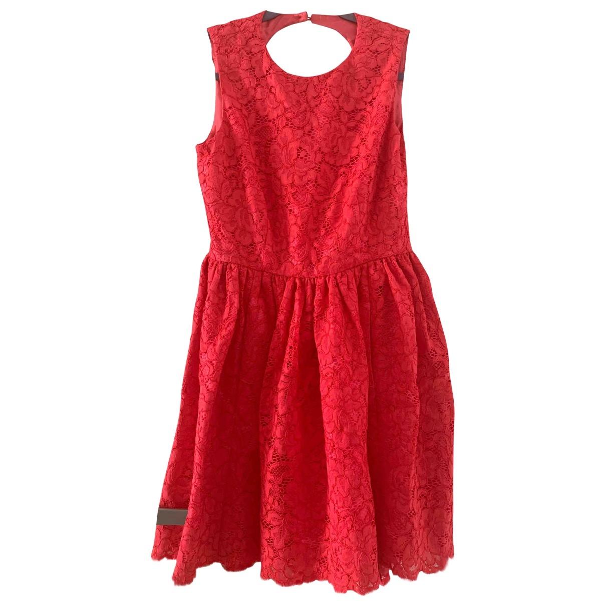 Kate Spade - Robe   pour femme en dentelle - rose