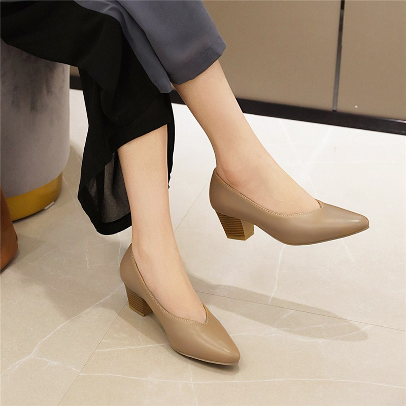 Ericdress Pointed Toe Slip-On Thread Casual Thin Women's Shoes