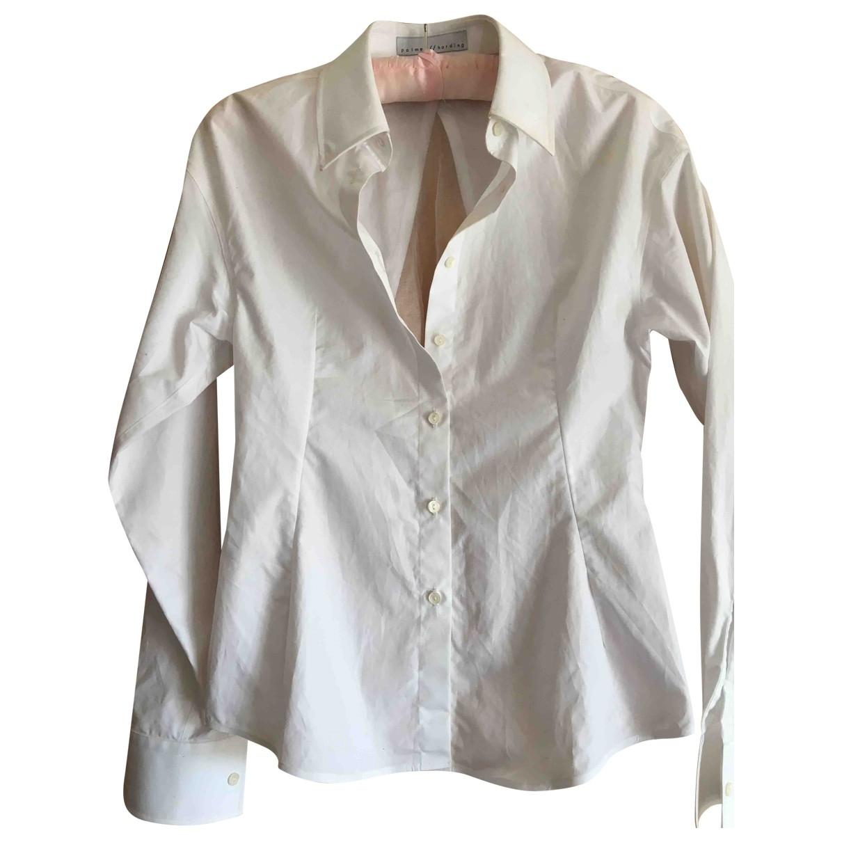 Palmer Harding - Top   pour femme en coton - blanc