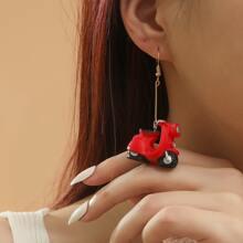 Ohrringe mit Fahrzeug Anhaenger