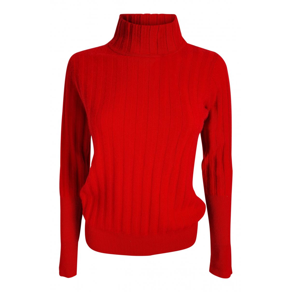 Madeleine Thompson - Pull   pour femme en cachemire - rouge