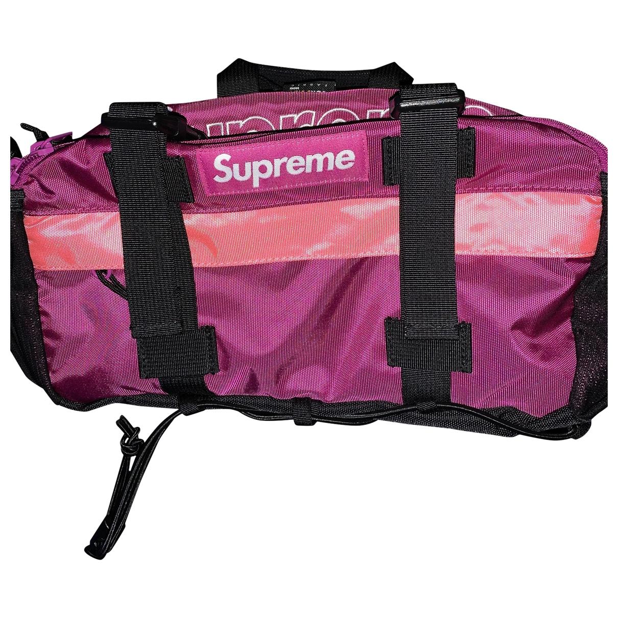Supreme \N Pink bag for Men \N