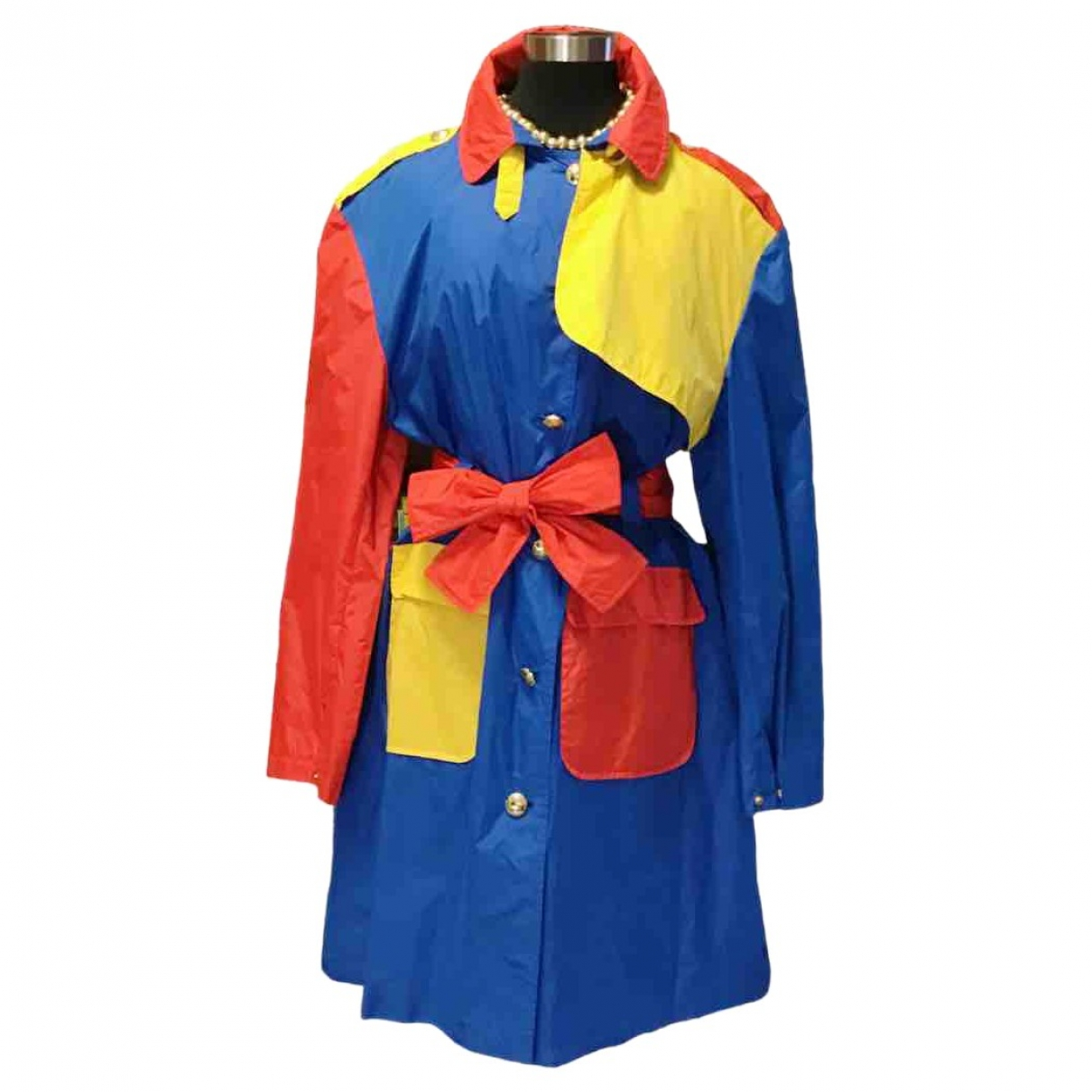 Jc De Castelbajac \N Multicolour Trench coat for Women 46 IT