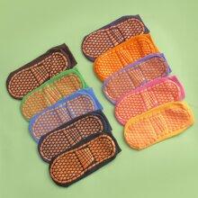 10 pares calcetines antideslizante de colores