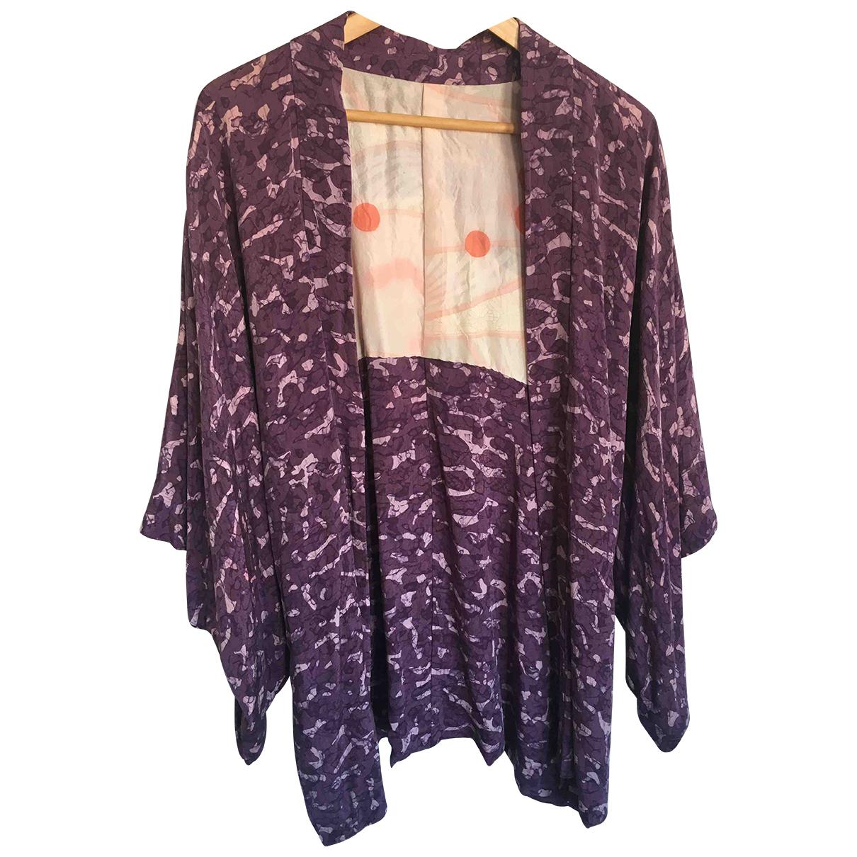 - Veste   pour femme en coton - violet