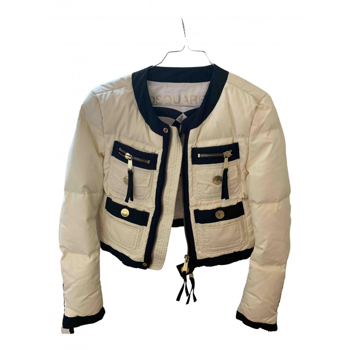 Dsquared2 - Manteau   pour femme - ecru
