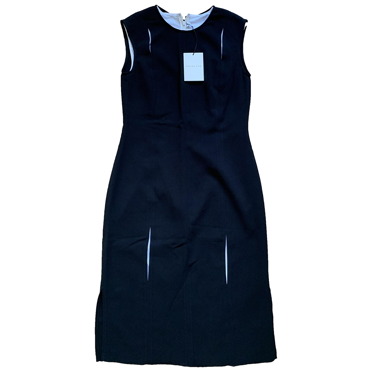 Rejina Pyo \N Black Silk dress for Women 8 UK
