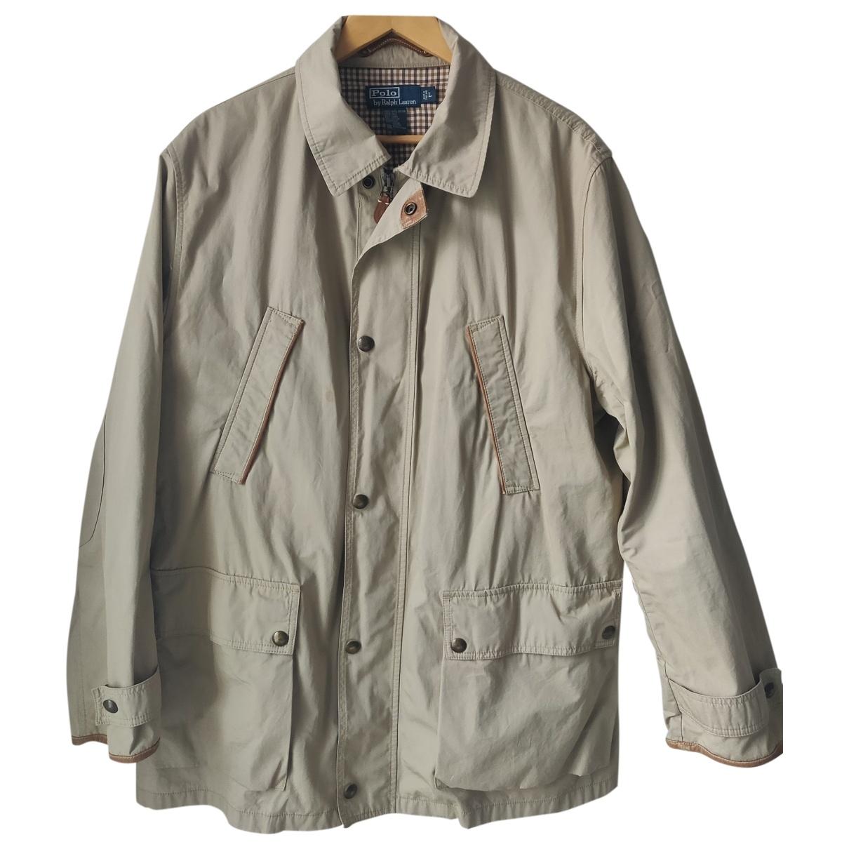Polo Ralph Lauren - Manteau   pour homme en coton - beige