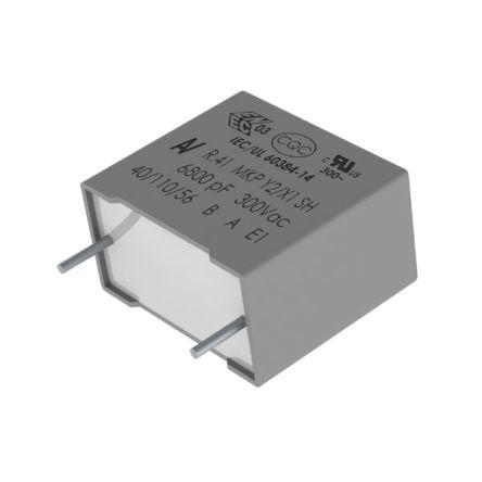 KEMET Capacitor Radial PP 0.068uF 300VAC THB G (500)