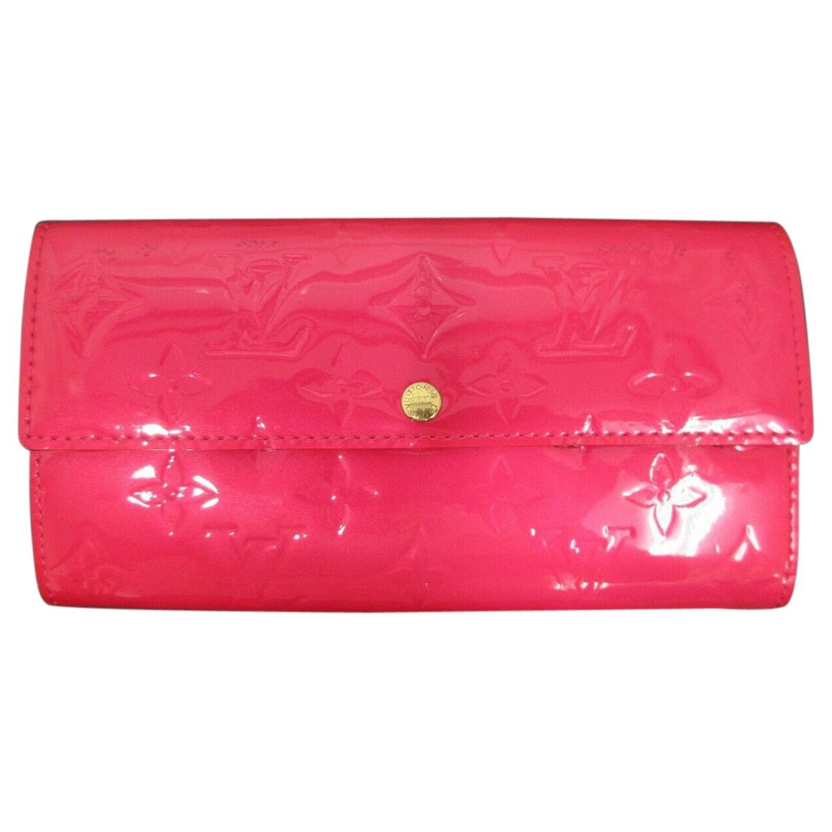 Louis Vuitton Virtuose Portemonnaie in  Rosa Lackleder