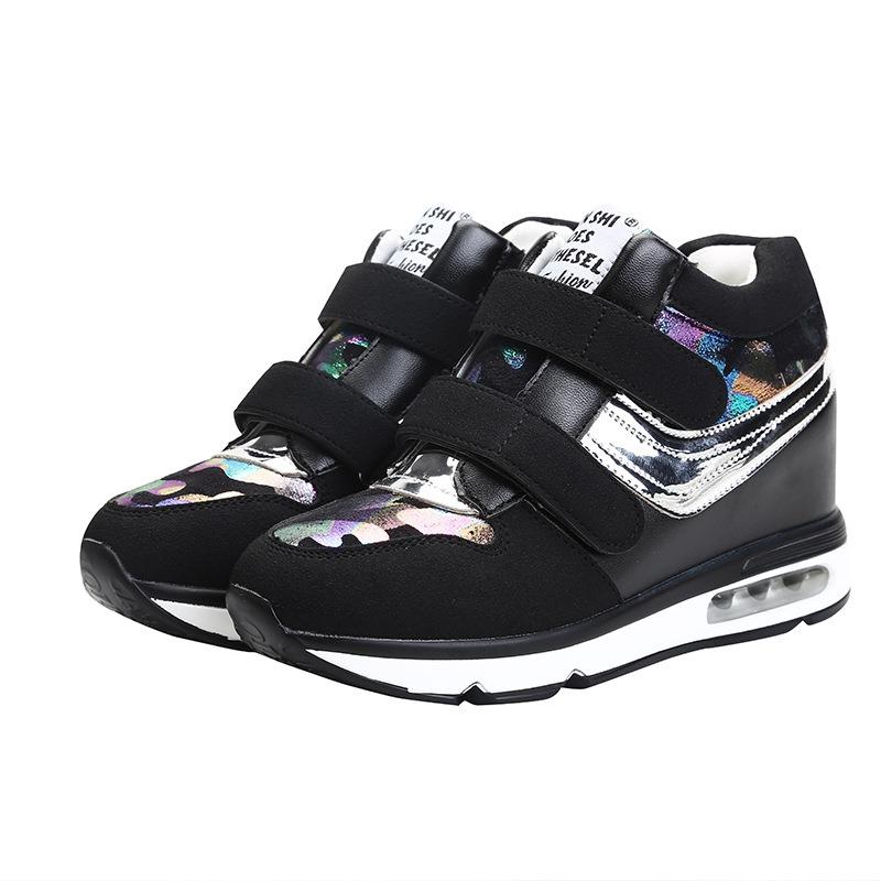 Ericdress Patchwork Camouflage Platform Velcro Women's Sneakers