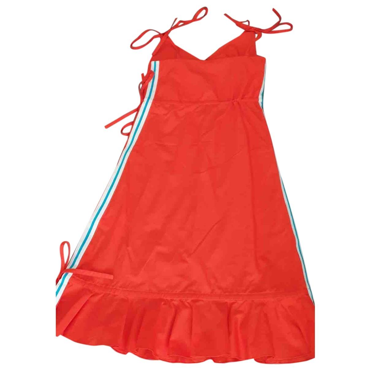 Kenzo \N Kleid in  Rot Baumwolle