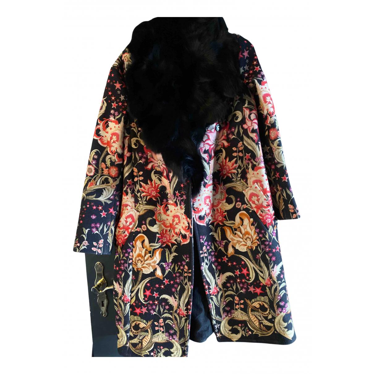 Roberto Cavalli - Manteau   pour femme en coton - multicolore