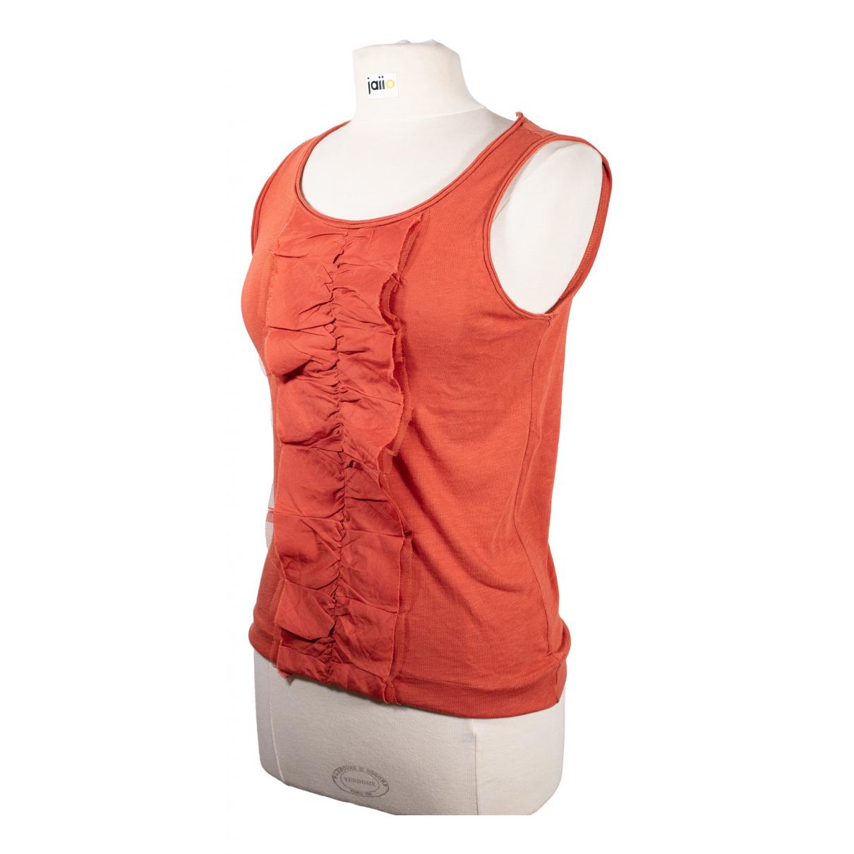 J.crew - Top   pour femme en coton - rouge