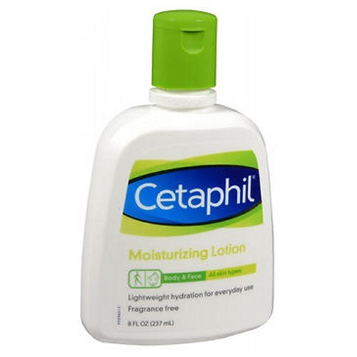 Cetaphil Moisturizing Lotion For All Skin Types Fragrance free 8 oz by Cetaphil