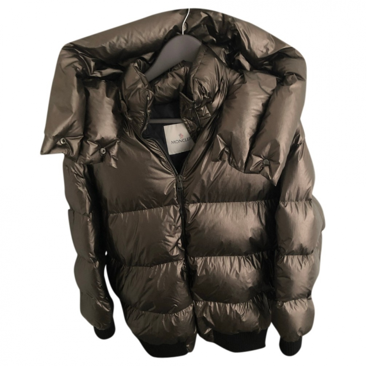 Moncler \N Maentel in  Gold Polyester