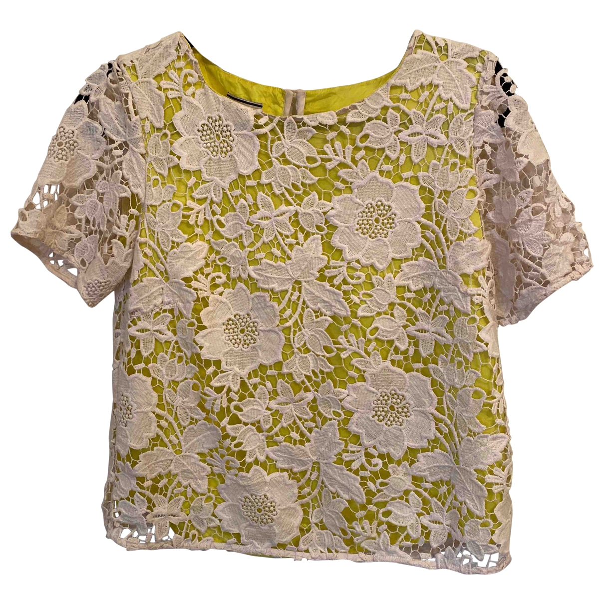 By Malene Birger \N Top in  Gelb Polyester