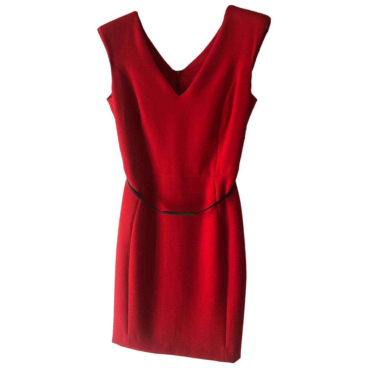Mango - Robe   pour femme - rouge