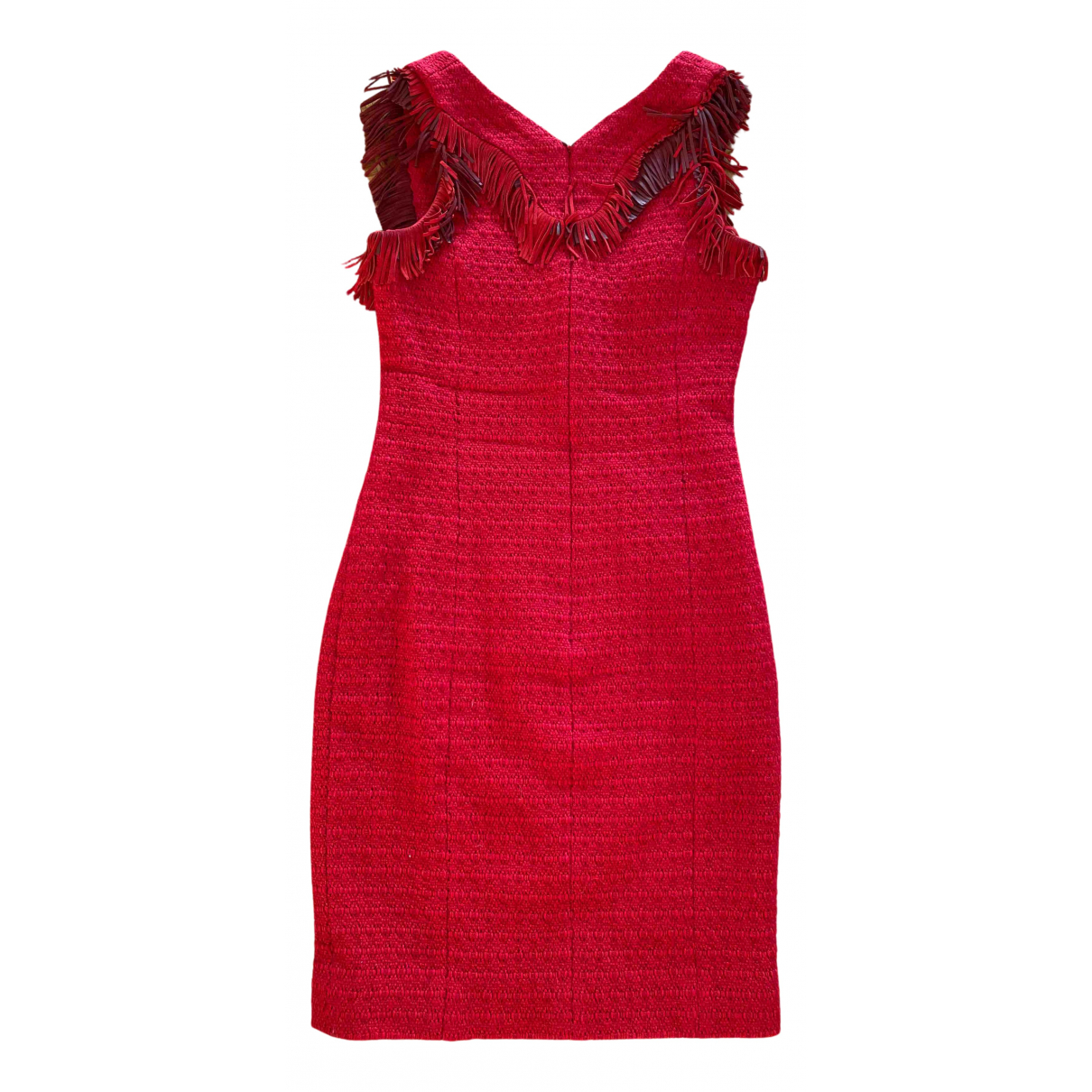 Chanel \N Kleid in  Rot Wolle