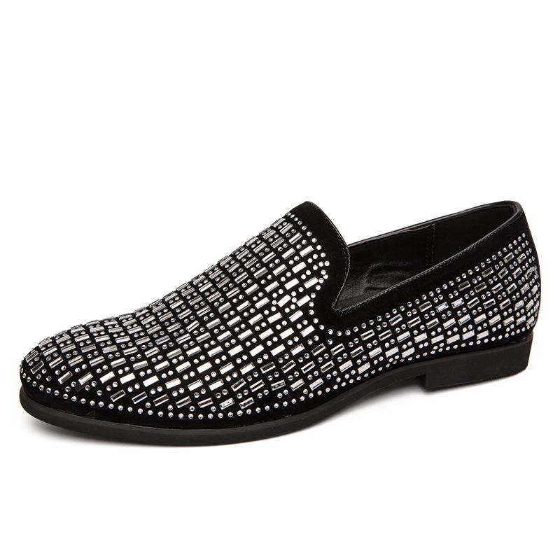 Ericdress Low-Cut Upper Slip-On Round Toe Men's Oxfords