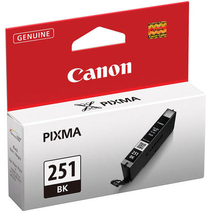 Canon CLI-251BK Original Black Ink Cartridge