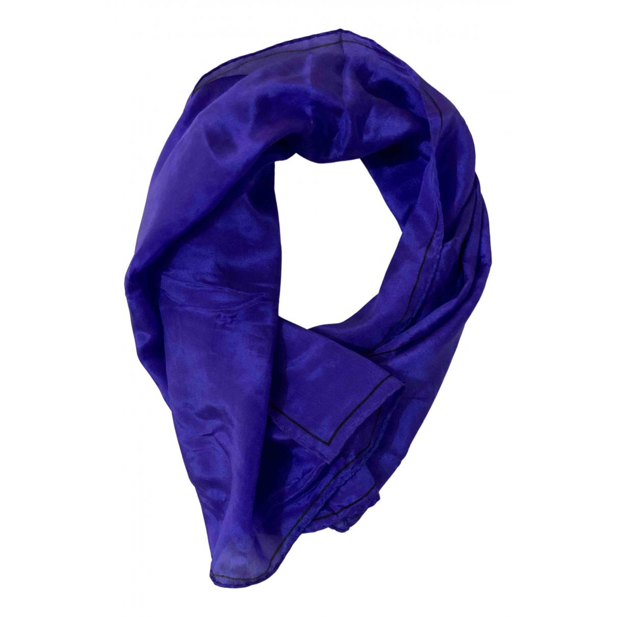 Oroton N Purple Silk scarf for Women N