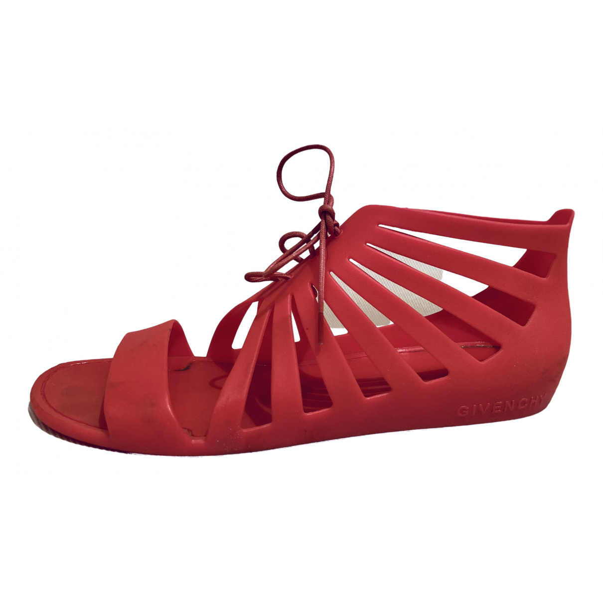 Givenchy N Pink Rubber Sandals for Women 40 IT