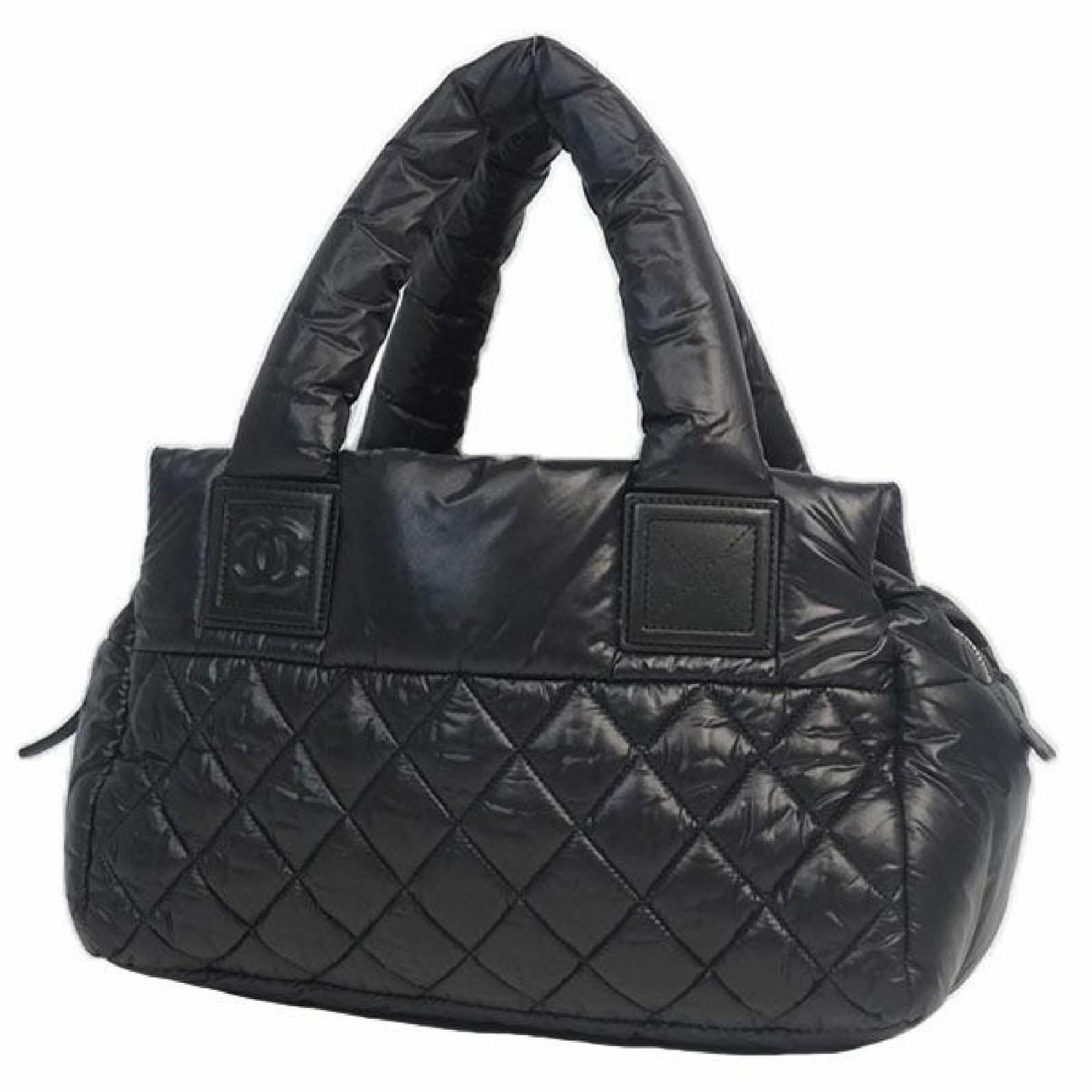 Chanel - Sac de voyage Coco Cocoon pour femme - noir