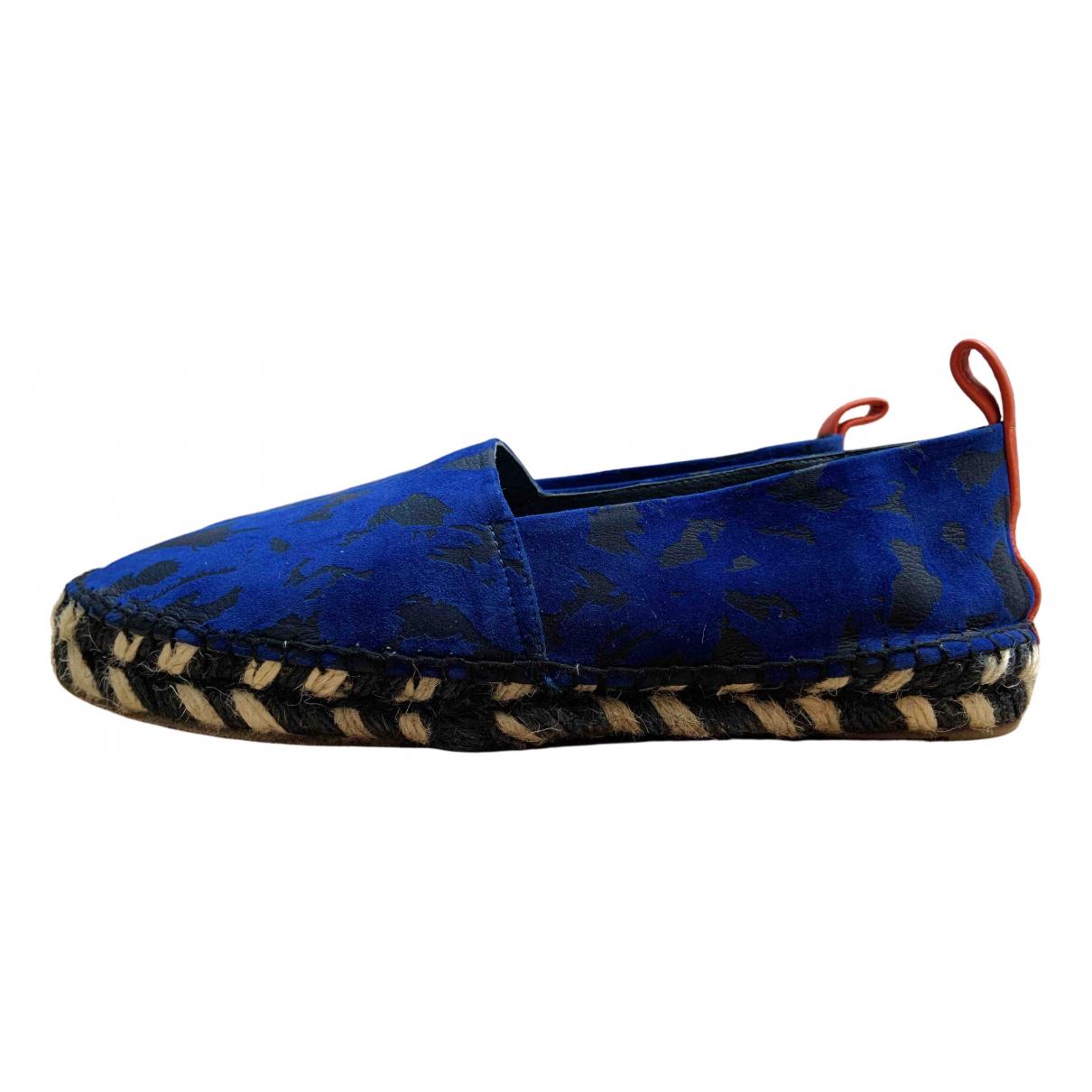Proenza Schouler \N Espadrilles in  Blau Leder