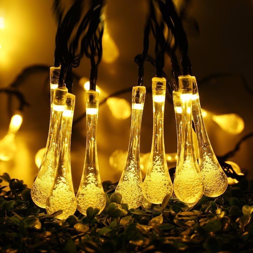 6.5M 30LED Battery Bubble Ball Fairy String Lights Garden Party Xmas Wedding Home Decor
